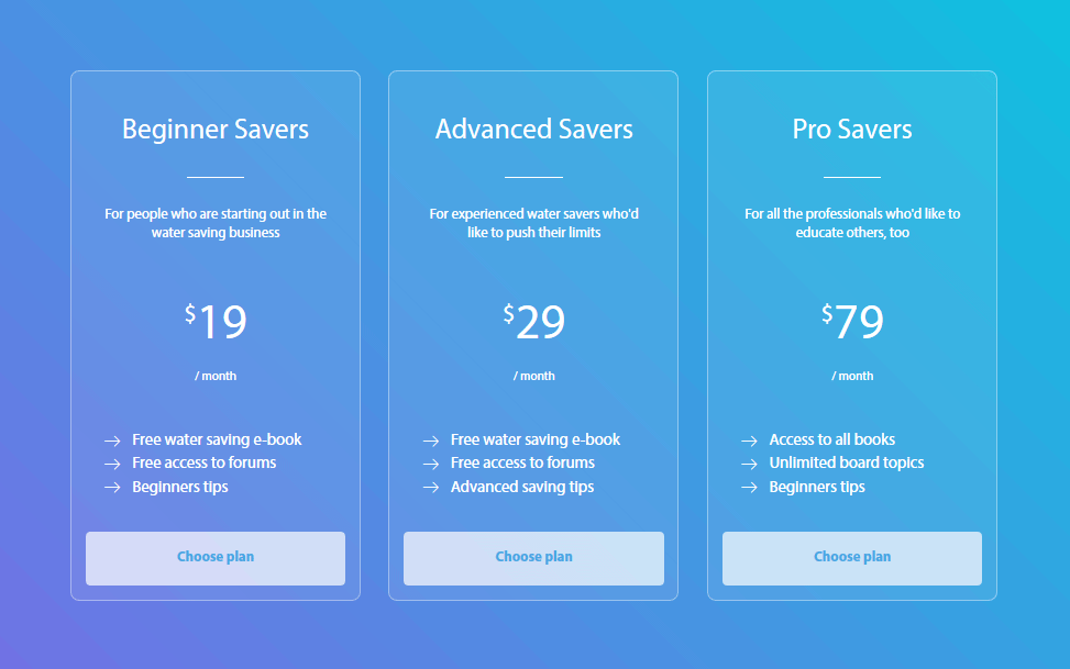 7 best responsive html pricing table css3 transition for Best html table