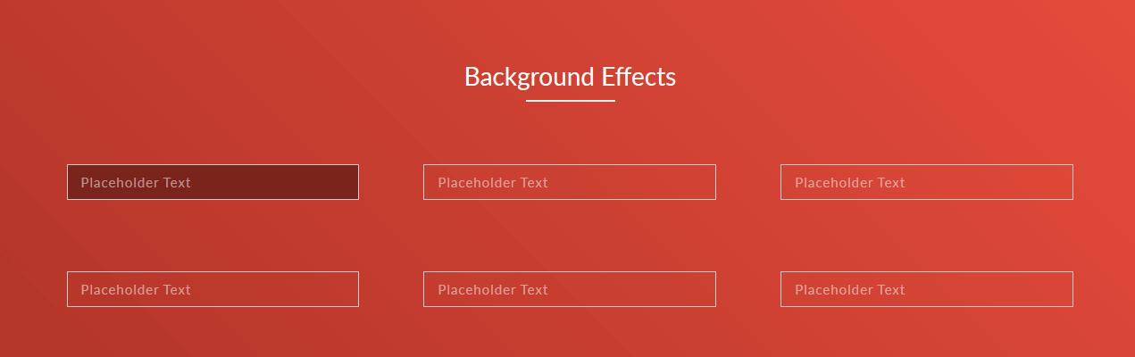 input focus background animation