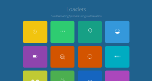 pure css loader and spinner