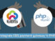 Integrate EBS payment gateway in PHP